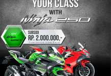 Beli All New Kawasaki Ninja 250 FI Subsidi