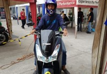 Test ride Yamaha Lexi di GIIAS