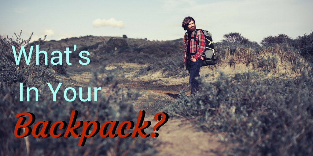 God's provision for Christians means packing light.