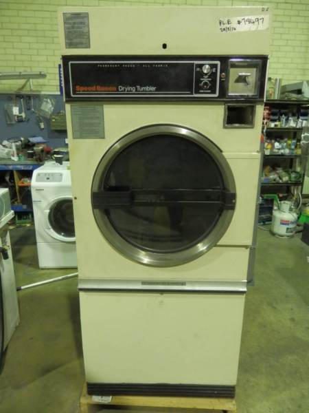 Speed Queen 14kg Commercial Coin Operated Gas Dryer