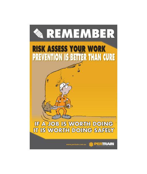 Free Risk Assessment Poster