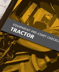 Tractor Pre Start Checklist Books