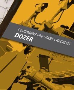 Dozer Pre Start Checklist Books