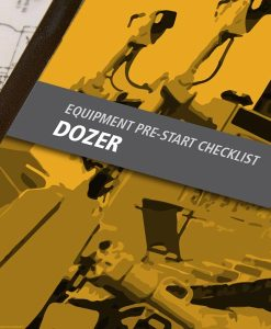 Dozer Pre Start Checklist Books