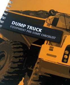 Dump Truck Pre-start book cover