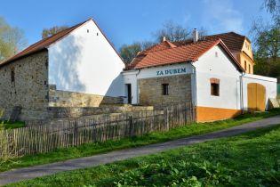 Ferienhaus Za Dubem, der Blick von der Oldřichs Eiche