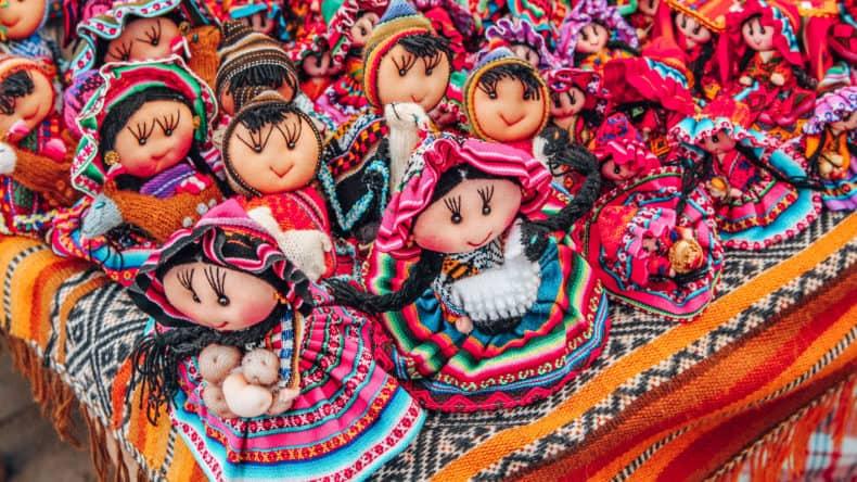 Bonecas Andinas - Viagem para o Peru