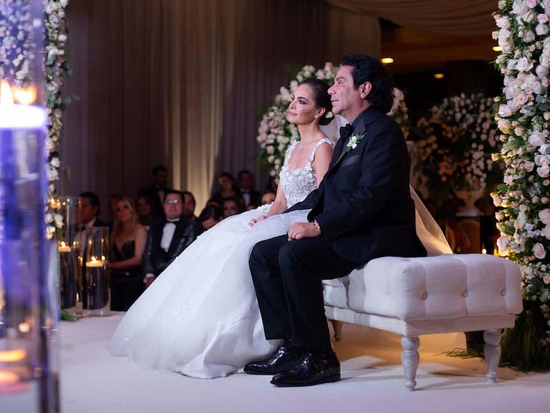 59943007d La boda de la famosa pastelera mexicana Paulina Abascal