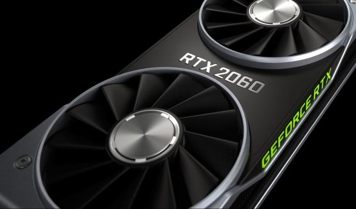 Nvidia anuncia oficialmente su nueva tarjeta de video RTX 2060