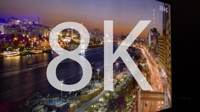 278131a8b61 Olvídate de los TV con 4K! Sharp presenta la primera TV 8K - Perusmart