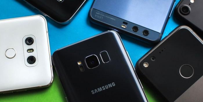 Estos son los 5 mejores smartphones que puedes comprar localmente