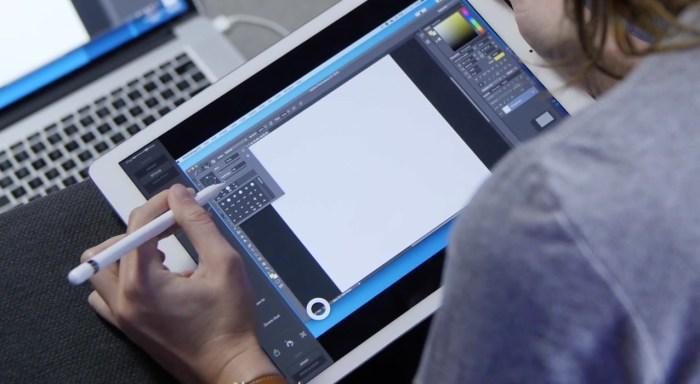 Adobe anuncia Photoshop en versión completa para iPad