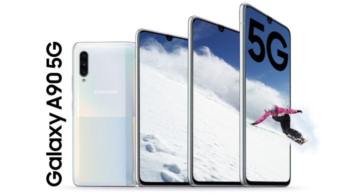 El Galaxy A90 5G es el primer smartphone no gama alta en recibir 5G