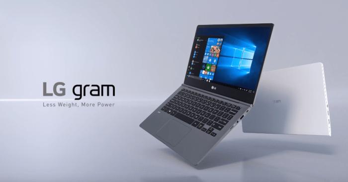 LG GRAM 2018 llega a Perú: la ultrabook que asegura gran desempeño