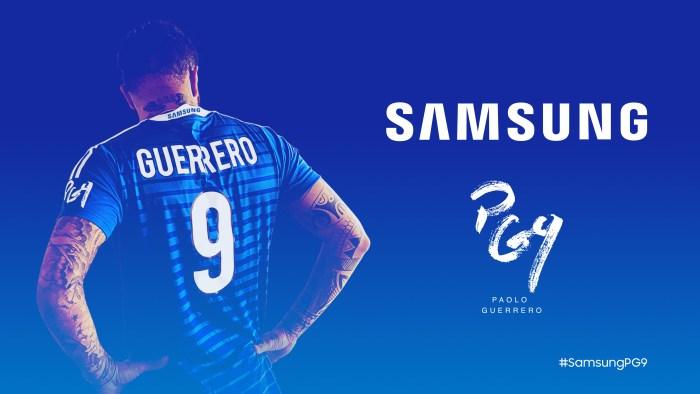 Samsung estrena el Galaxy S9+ Edición Especial: Paolo Guerrero