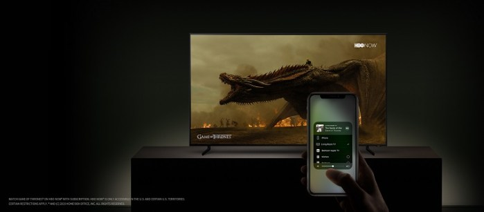 Los Smart TV de Samsung permitirán usar iTunes y serán compatibles con AirPlay 2