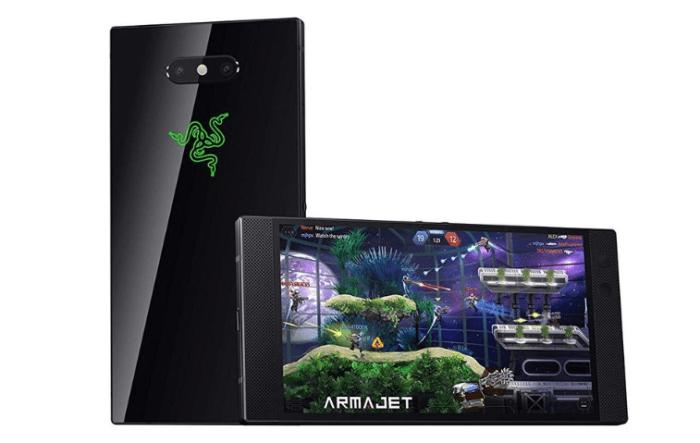 Razer Phone 2 se filtra en Amazon con luces RGB y cámara dual