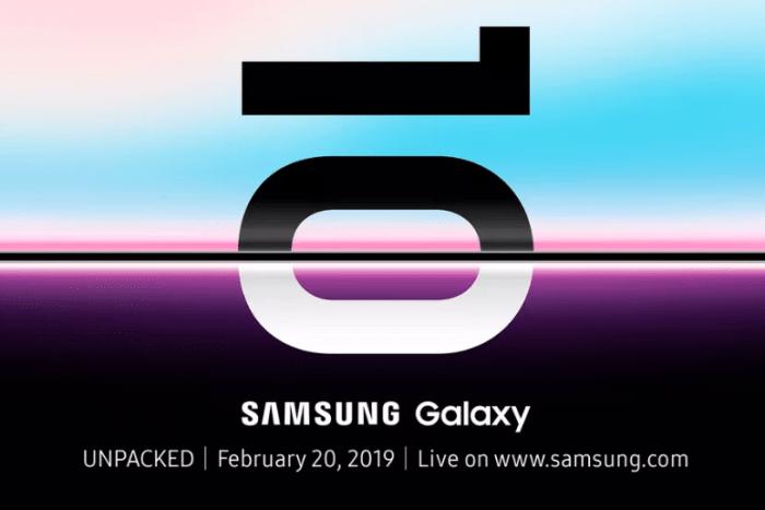 (Video) Samsung lanza teaser de Galaxy S10 y nuevo teléfono plegable