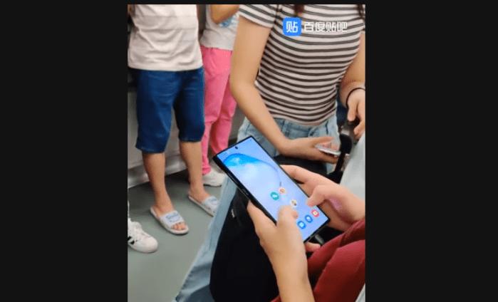 (Video) Galaxy Note 10 se deja ver en la calle a dos días de su lanzamiento