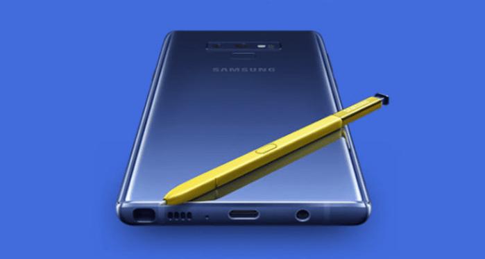 Se filtran detalles del S-Pen del Galaxy Note 9 a poco de su lanzamiento