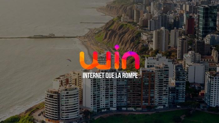WIN Perú anuncia fibra óptica para todo Lima Metropolitana y Callao
