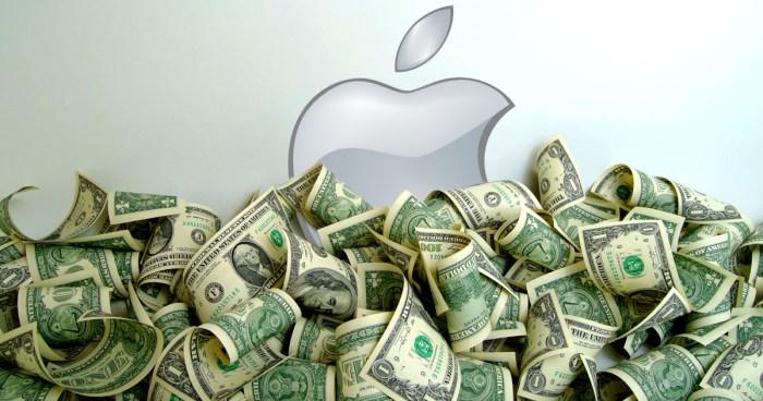 Los resultados financieros de Apple son brutales: 22.200 millones de dólares de ingresos netos