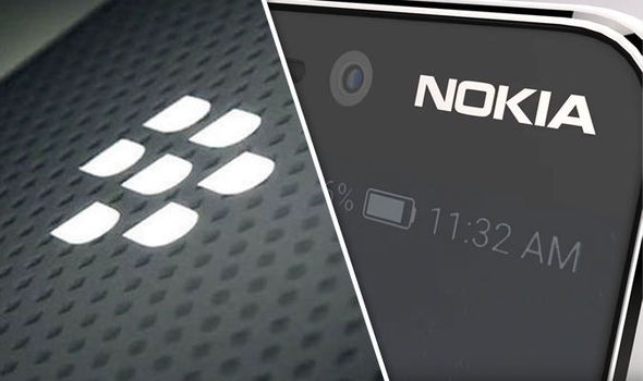 BlackBerry demanda a Nokia por infringir sus patentes