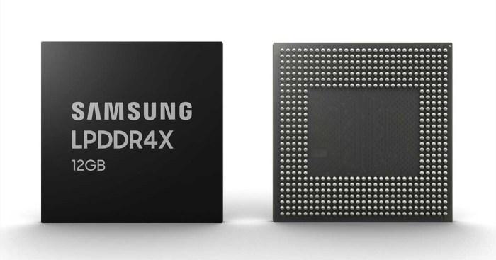 Samsung empezará la fabricación de módulos con 12 GB de RAM para smartphones