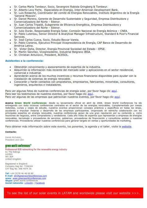 SolarTech Argentina 2013 - Comunicado de Prensa_002