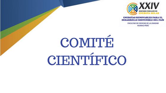 Comité Científico XXIV SPES