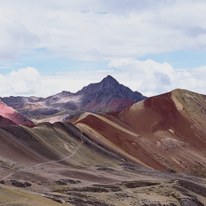 Vinicunca, the Rainbow Mountain