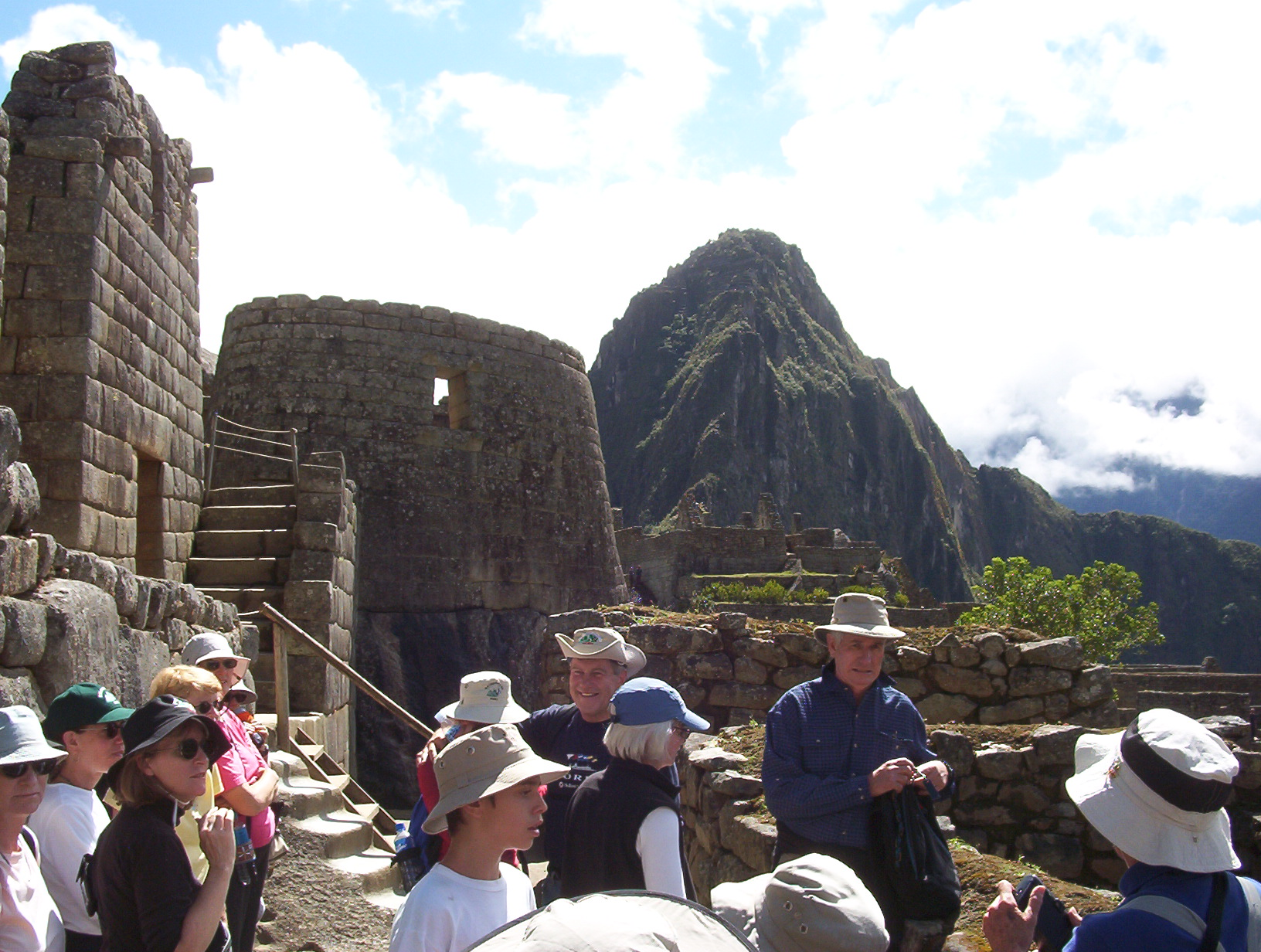 Machu Picchu with Huayna Picchu in the background