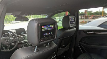 Mercedes Benz Rear Seat Entertainment Options