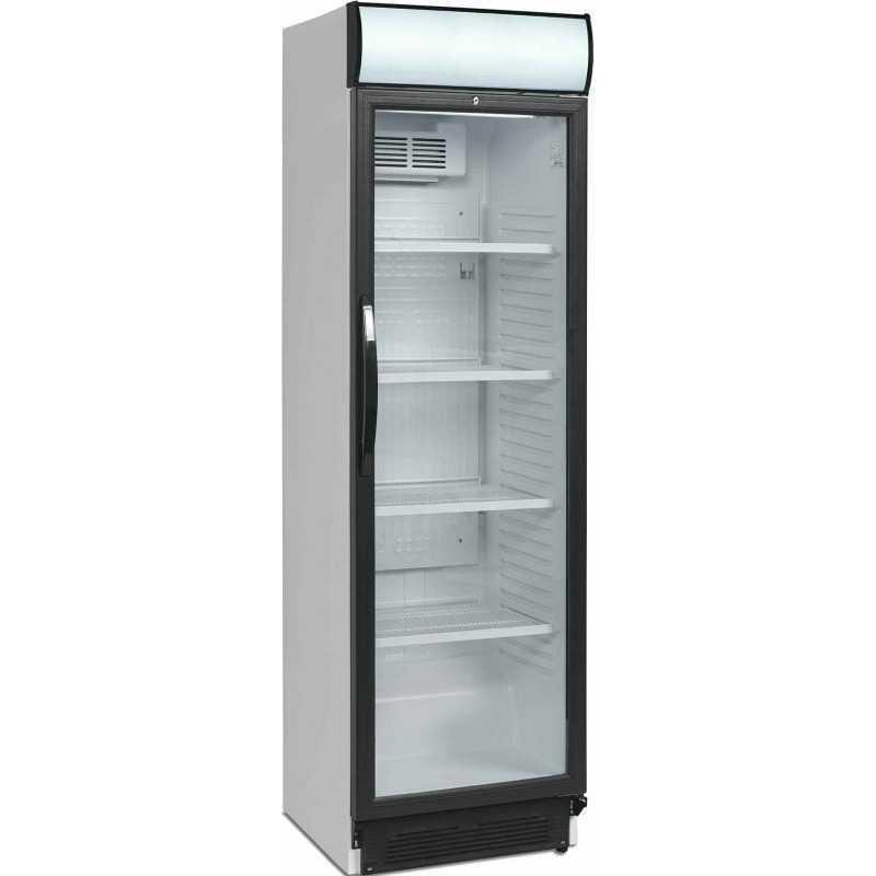 armoire refrigeree vitree positive 374 l