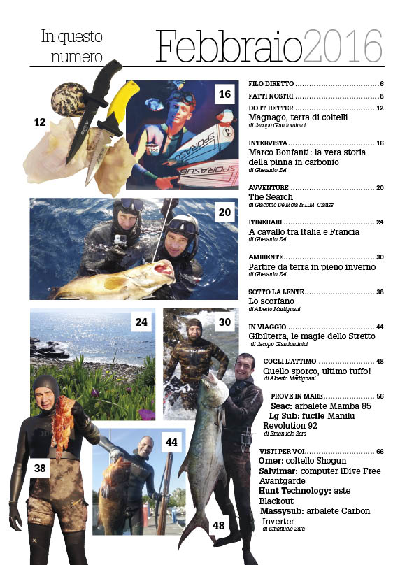 rivista pesca sub 02_sommario