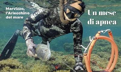 Numero di Ottobre della rivista Pescasub & Apnea