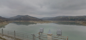 lago di Penne dal pontile