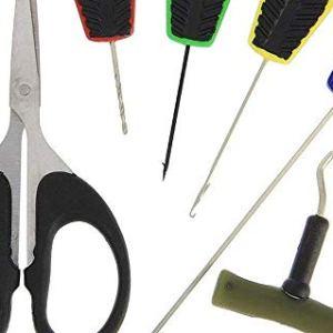 set di accessori per innesco carpfishing costruzione hair rig