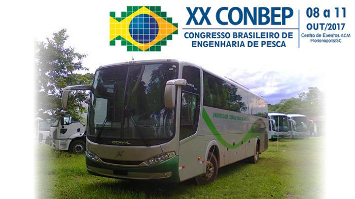 Ônibus para o XX CONBEP