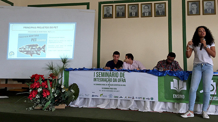 Participação no Seminário de Integração