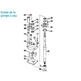 Turbine Hors Bord Johnson Evinrude 55 60 65 70 Et 75 Cv 2 Temps