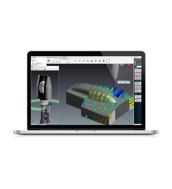 Hire the SpatialAnalyzer from PES Metrology