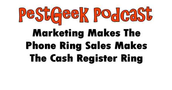 Marketing Makes The Phone Ring Sales Makes The Cash Register Ring
