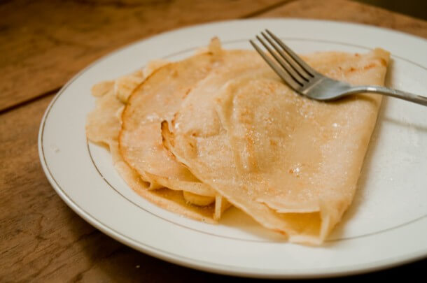 Easy pancake recipe no eggs or dairy