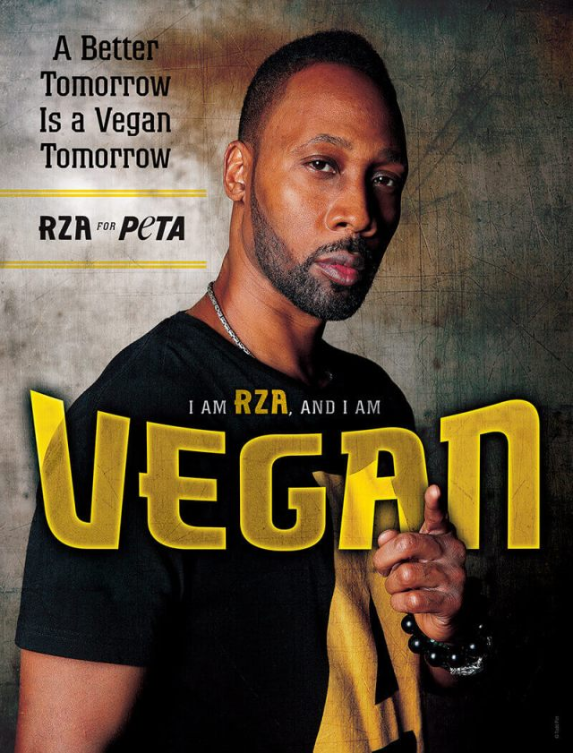 rza, vegan celebrity