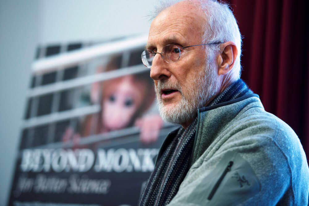 James Cromwell Speaks at Congressional Briefing on NIH Experiments on Baby Monkeys