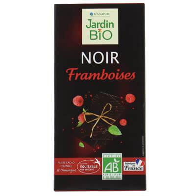 Jardion Bio Framboises Noir végan végétalien