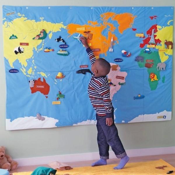 Geosafari Wonder World Map