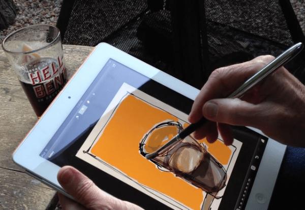 Sensu Brush for iPad