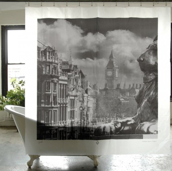 Trafalgar Square London Shower Curtain
